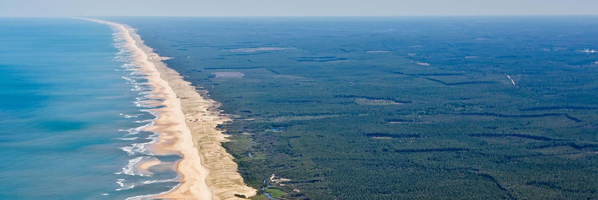 Côte landaise - The Landes coast - Die landaisische Küste